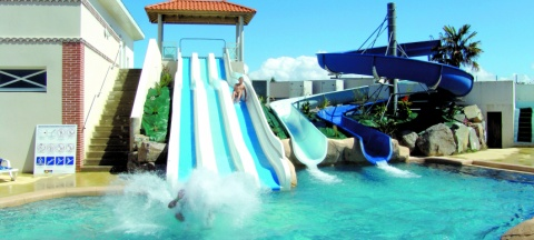 The most beautiful campsites with a water park