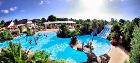 The Water Park Of The Campsite Le Letty